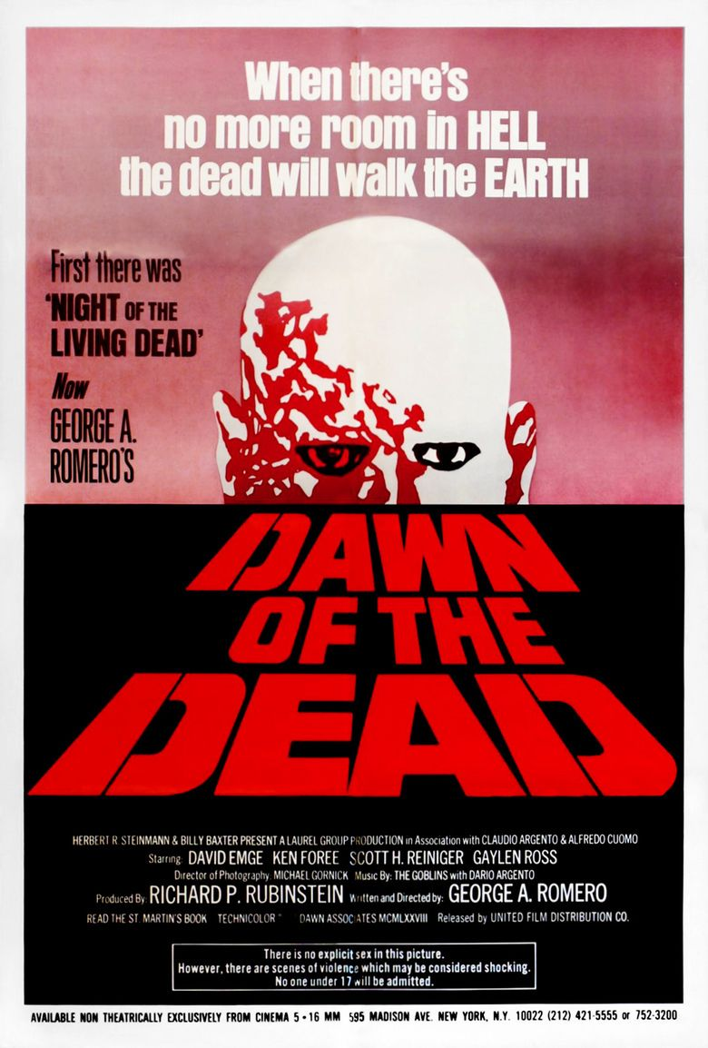 Dawn of the Dead movie poster