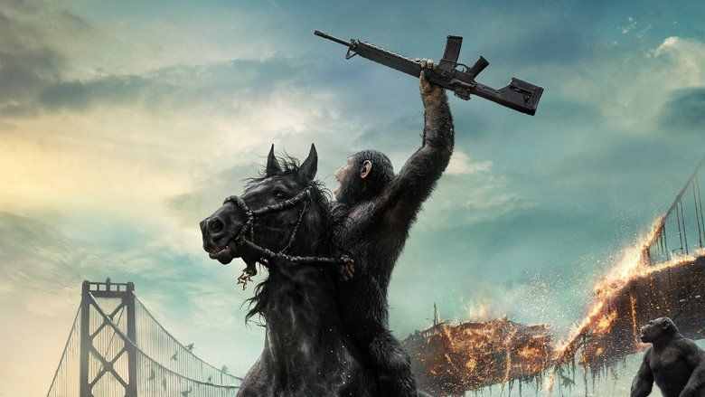 Dawn of the Planet of the Apes movie scenes