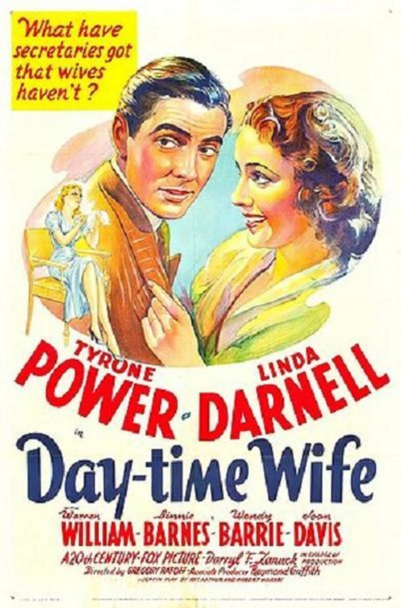 Day Time Wife movie poster