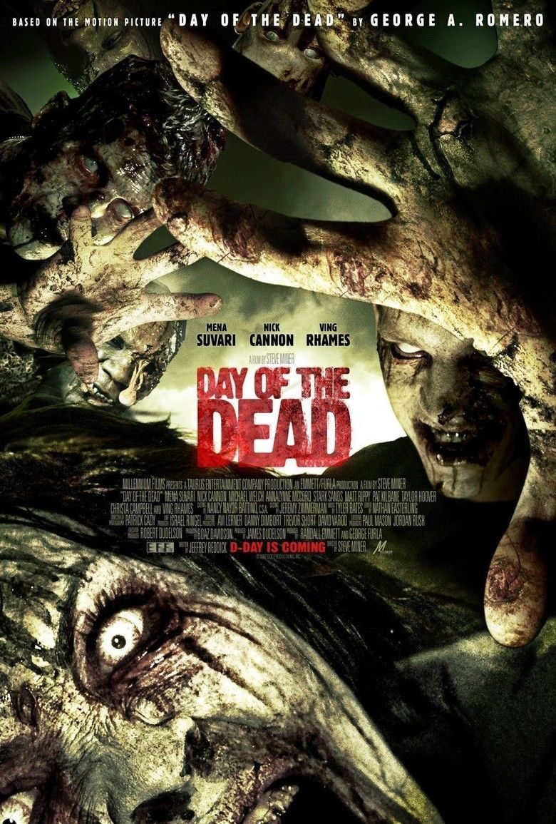Day of the Dead (2008 film) movie poster