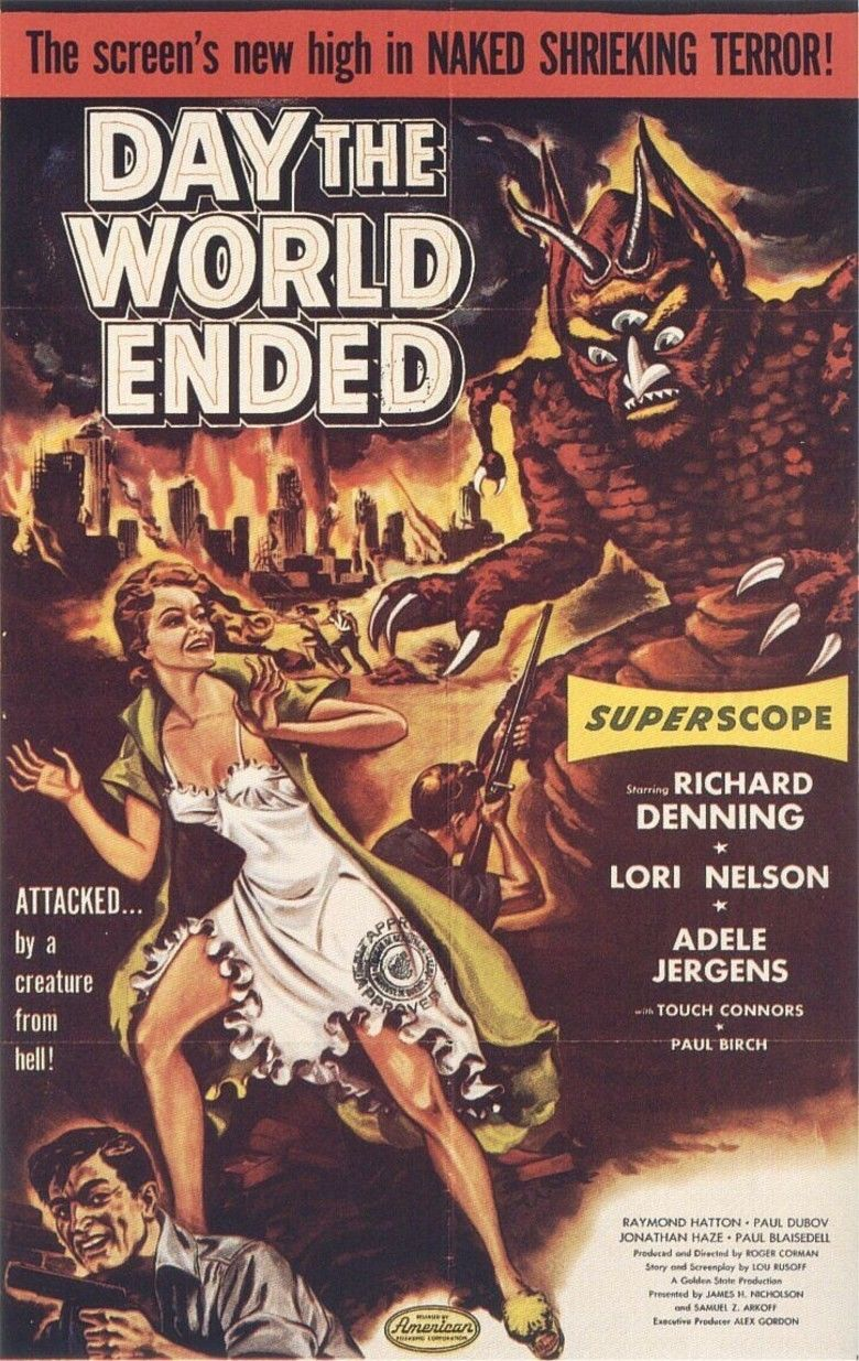Day the World Ended movie poster