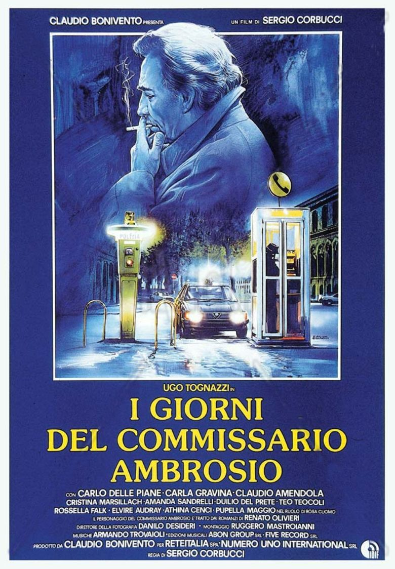 Days of Inspector Ambrosio movie poster