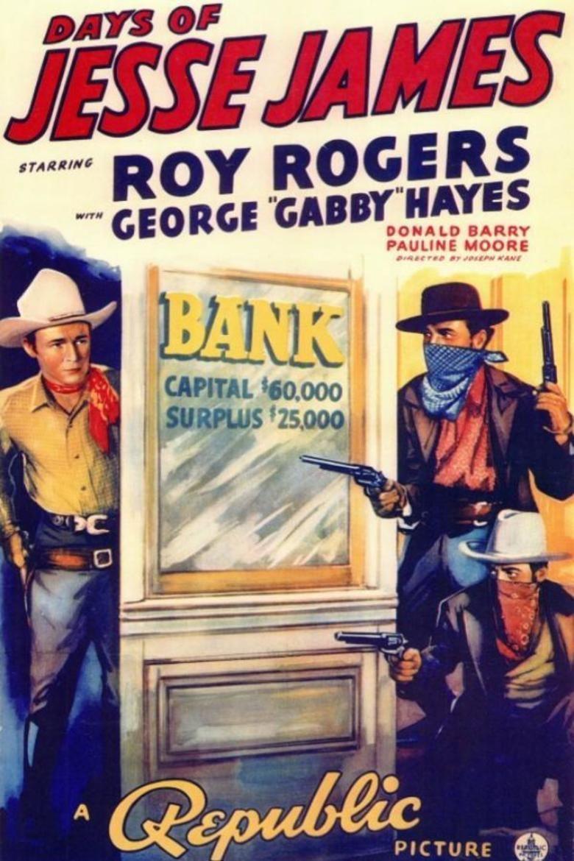Days of Jesse James movie poster