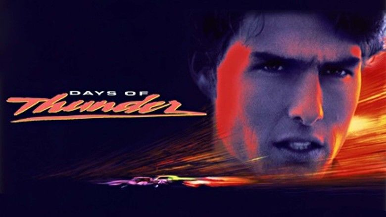 Days of Thunder movie scenes