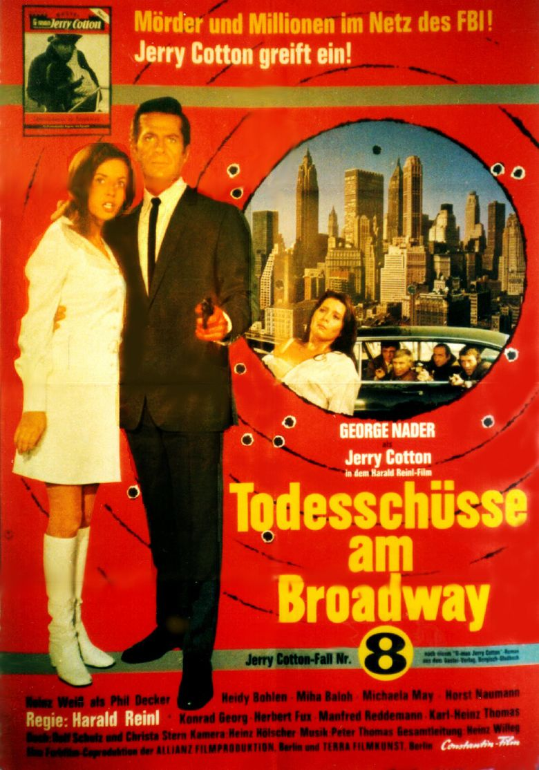Dead Body on Broadway movie poster