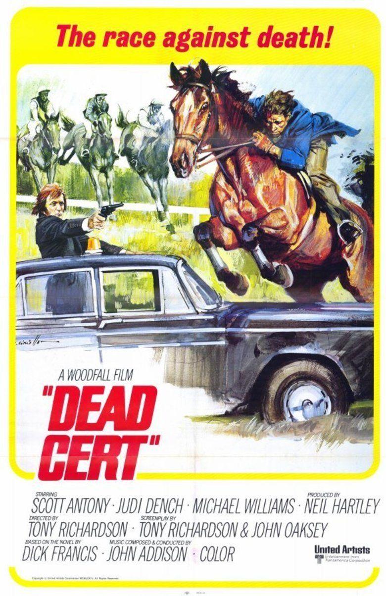 Dead Cert (1974 film) movie poster