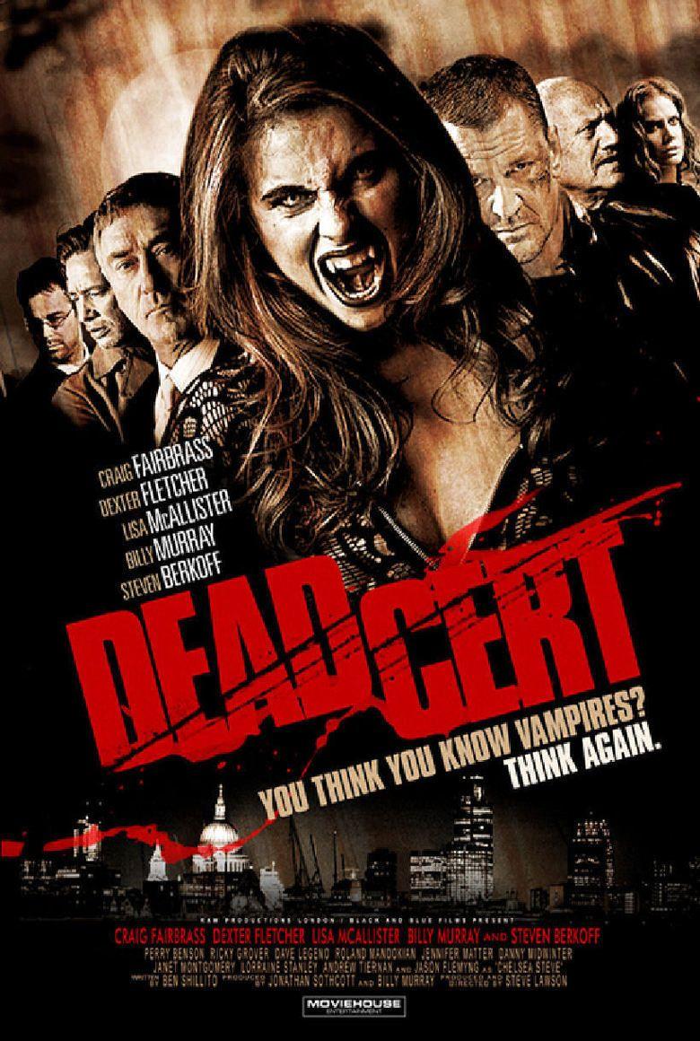 Dead Cert (2010 film) movie poster