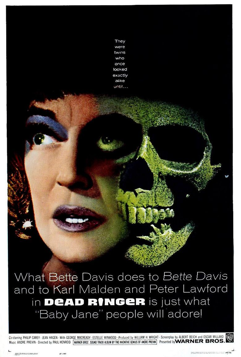Dead Ringer (1964 film) movie poster