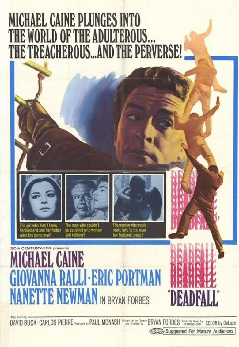 Deadfall (1968 film) movie poster