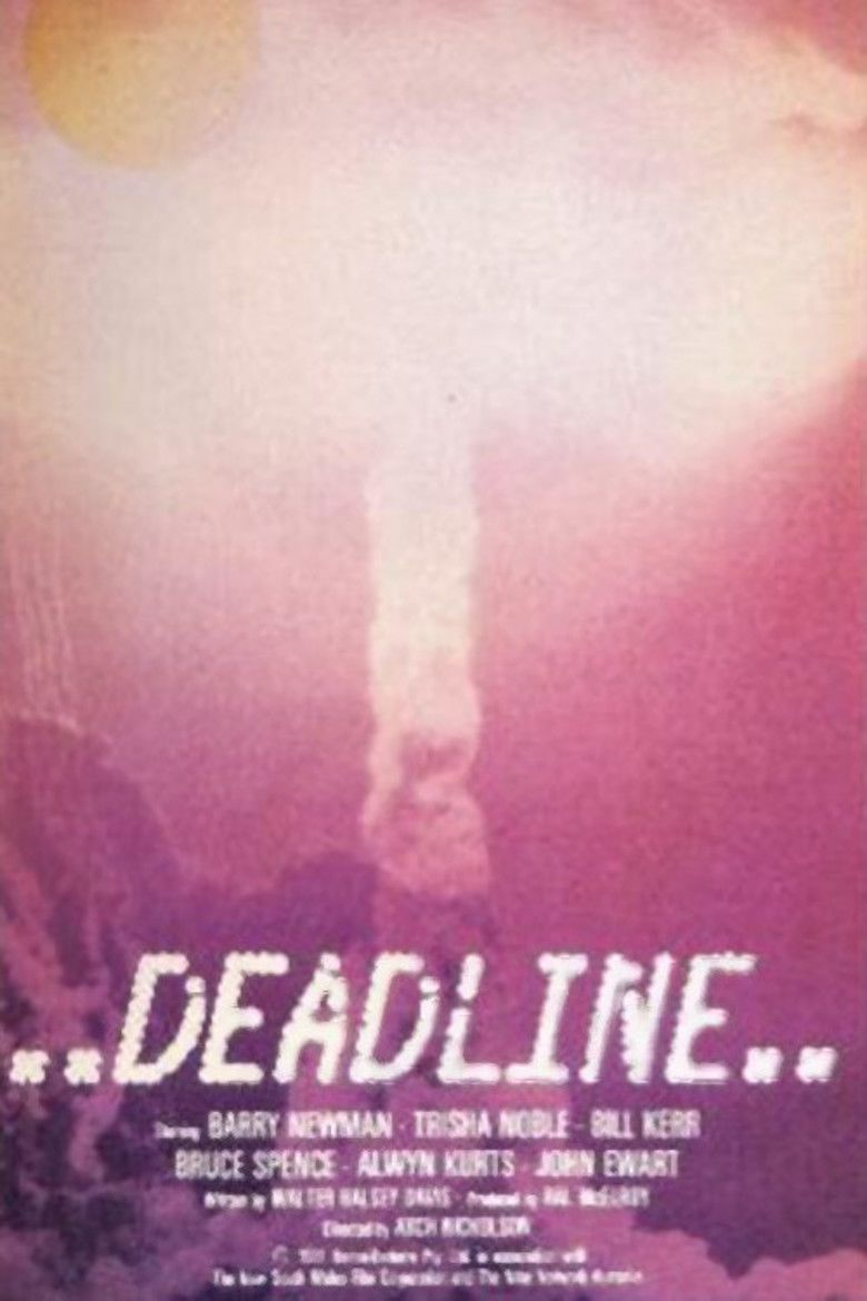 Deadline (1982 film) movie poster