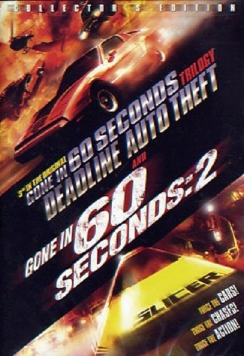 Deadline Auto Theft movie poster