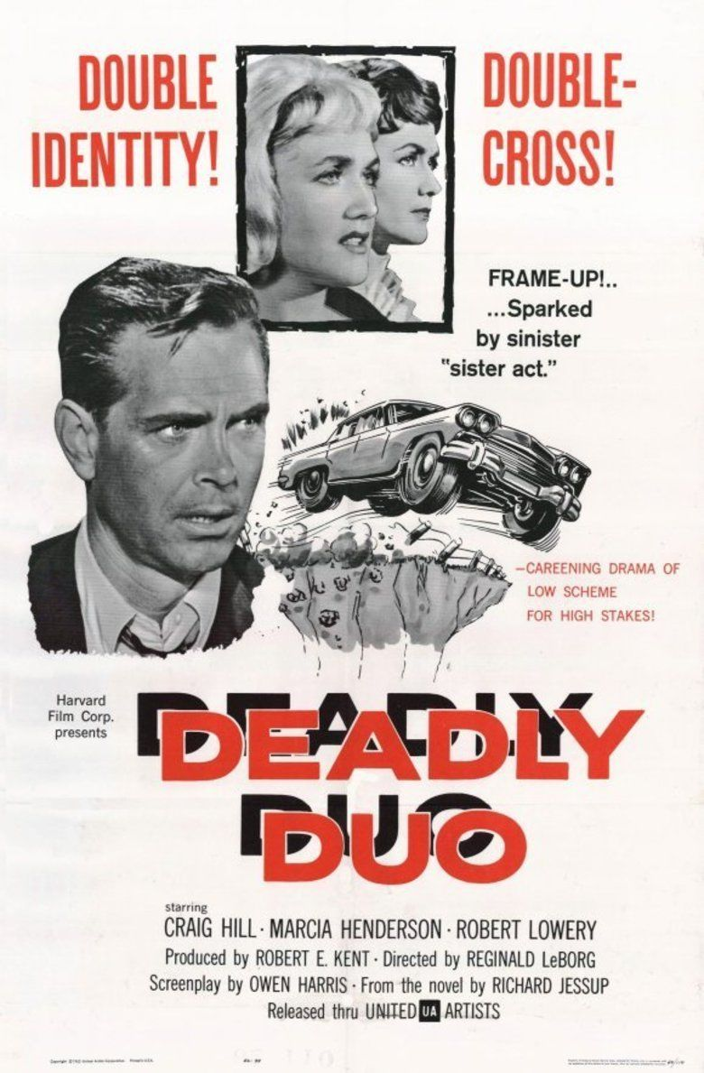 Deadly Duo (1962 film) movie poster
