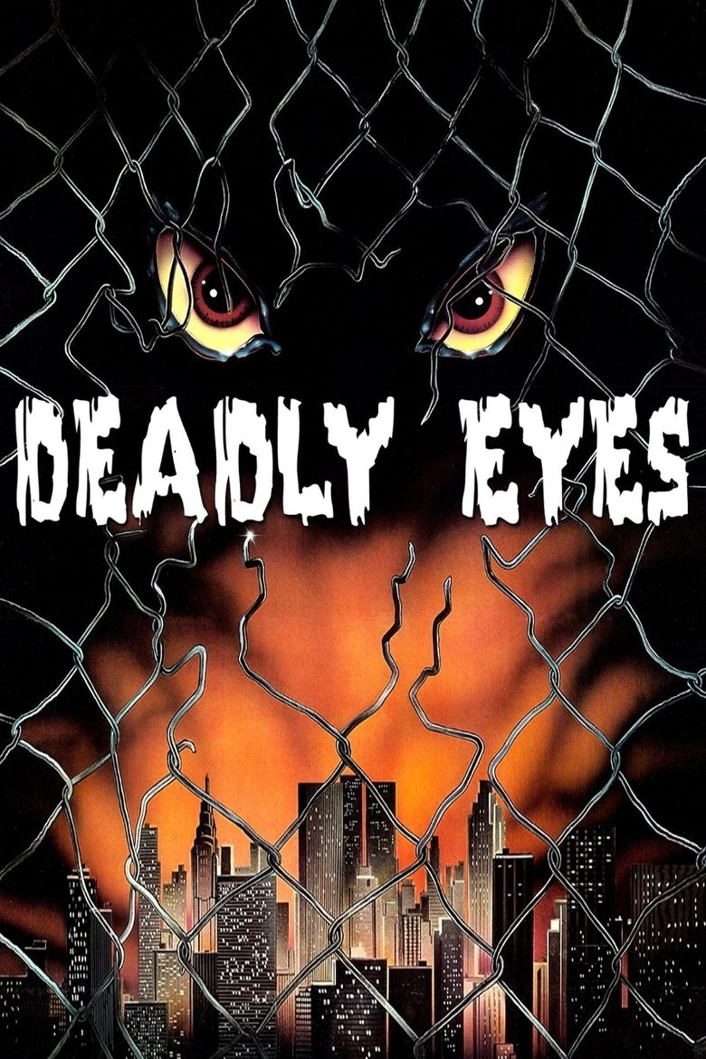 Deadly Eyes movie poster