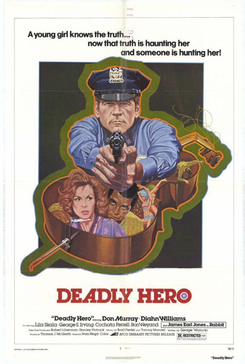 Deadly Hero movie poster