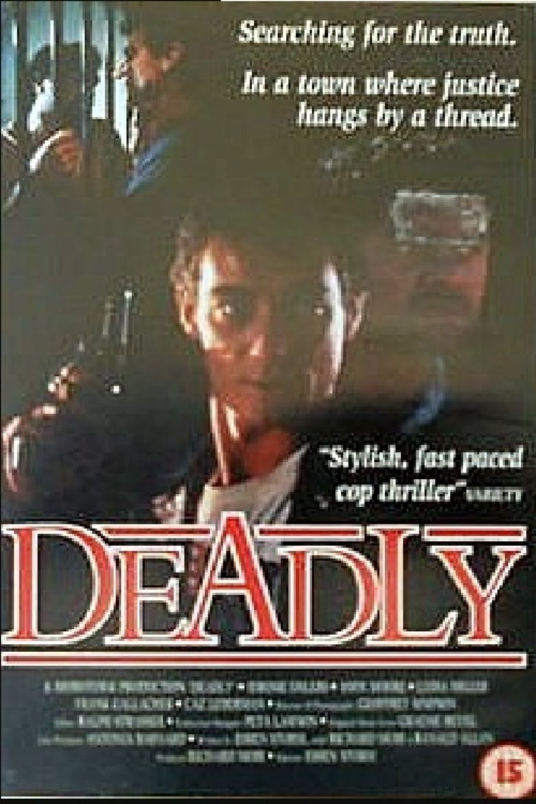 Deadly (film) movie poster