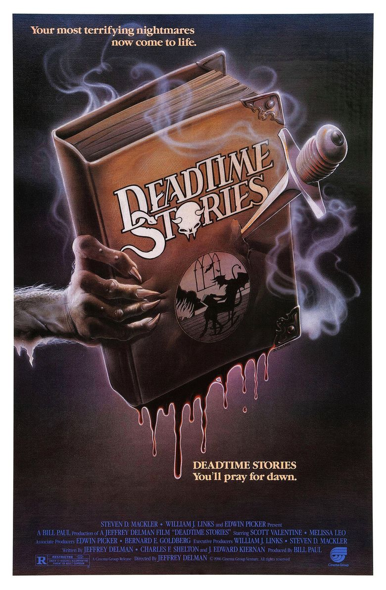 Deadtime Stories (film) movie poster