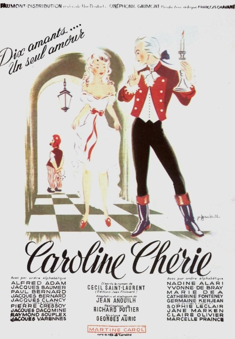 Dear Caroline movie poster