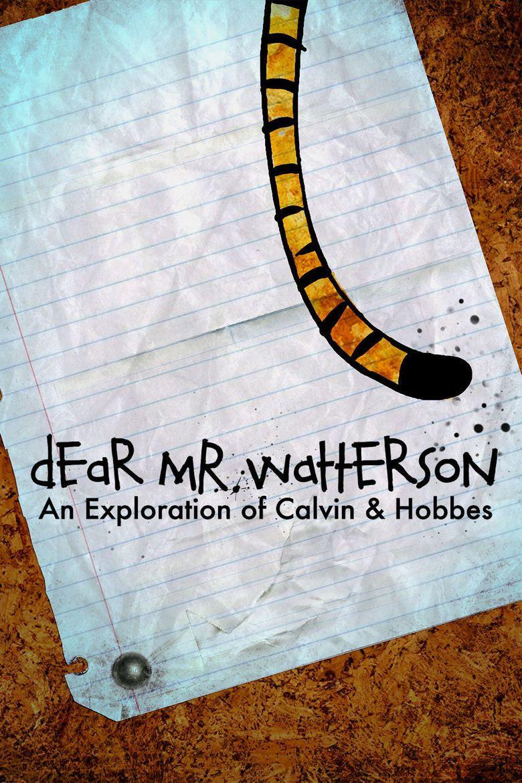 Dear Mr Watterson movie poster