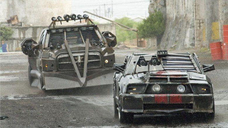 Death Race 2 movie scenes