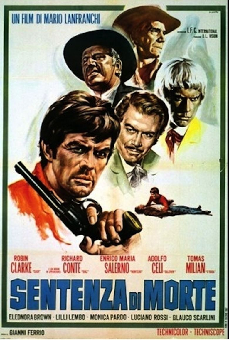 Death Sentence (1968 film) movie poster
