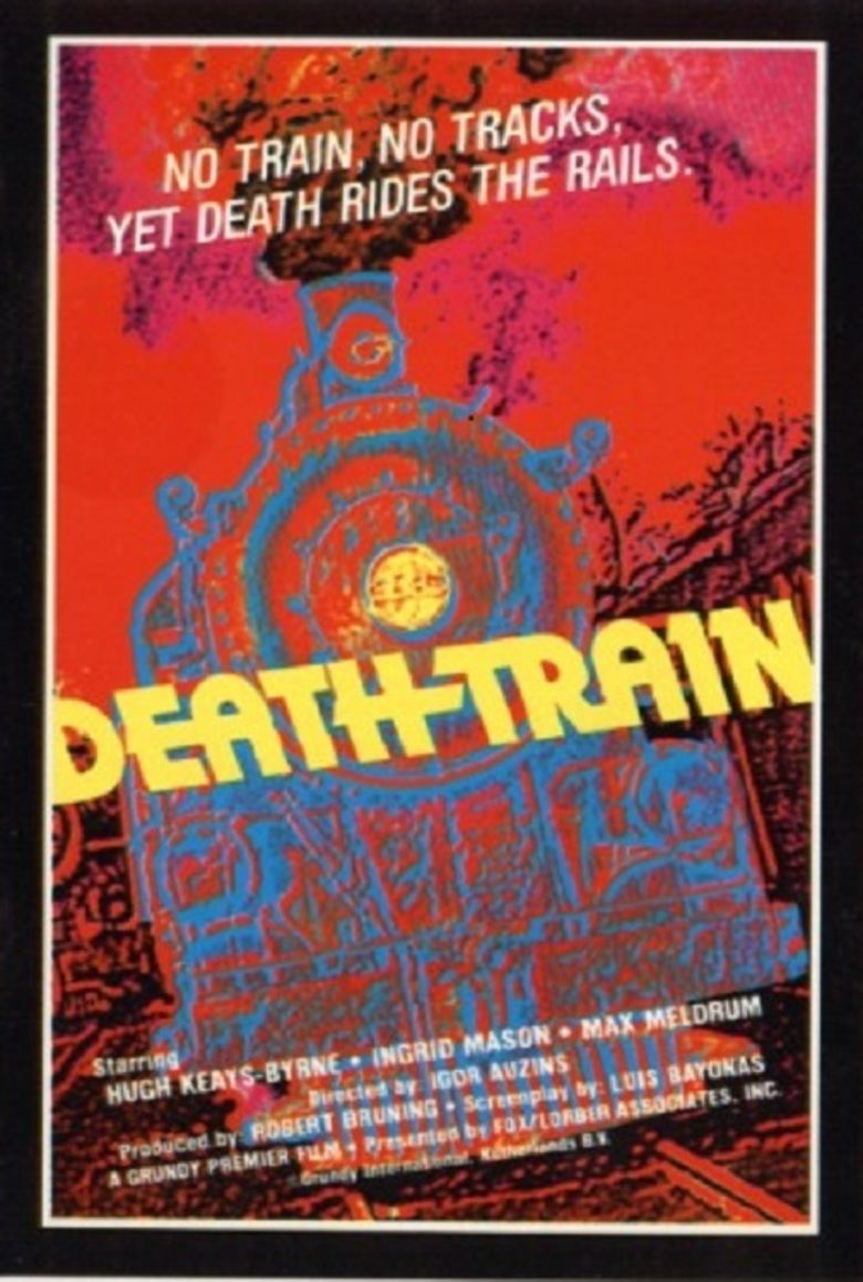 Death Train (1977 film) movie poster