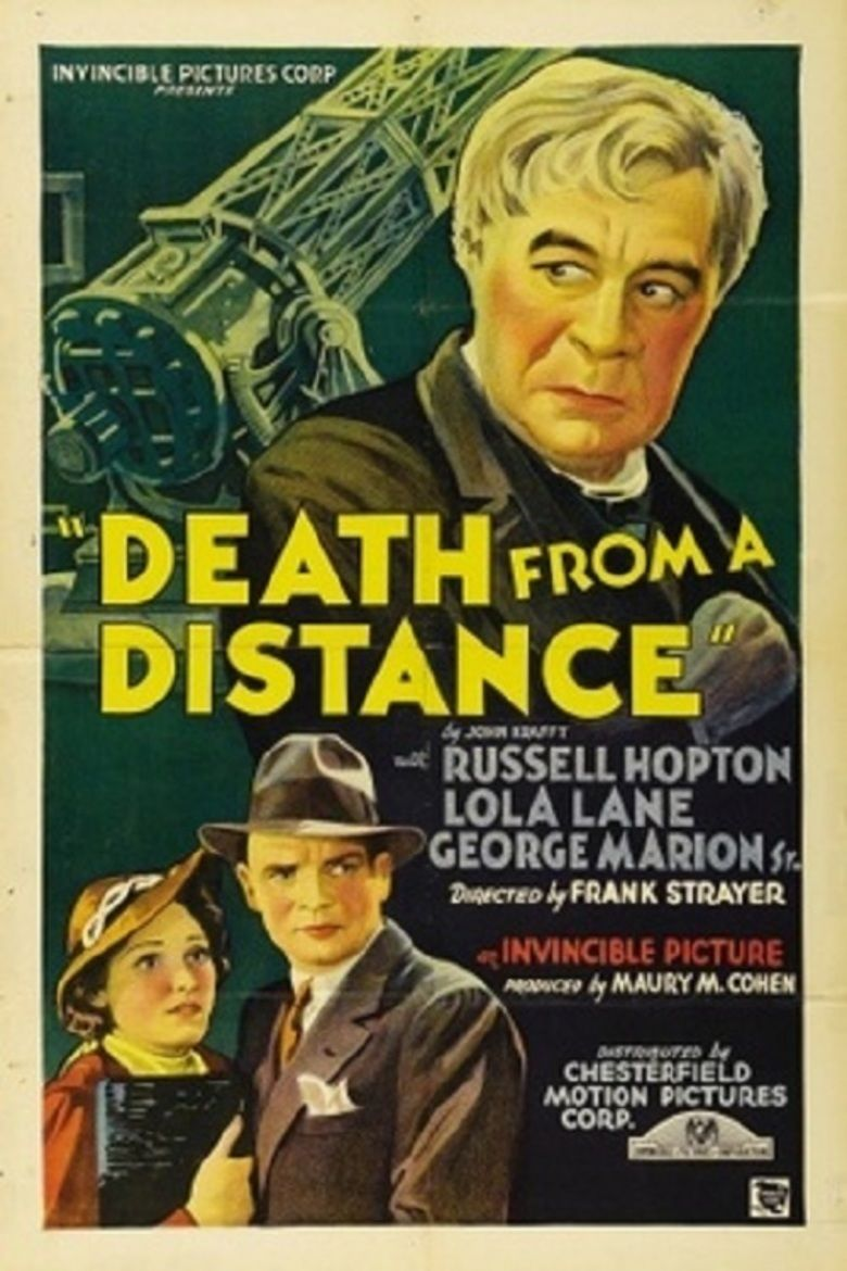 Death from a Distance movie poster