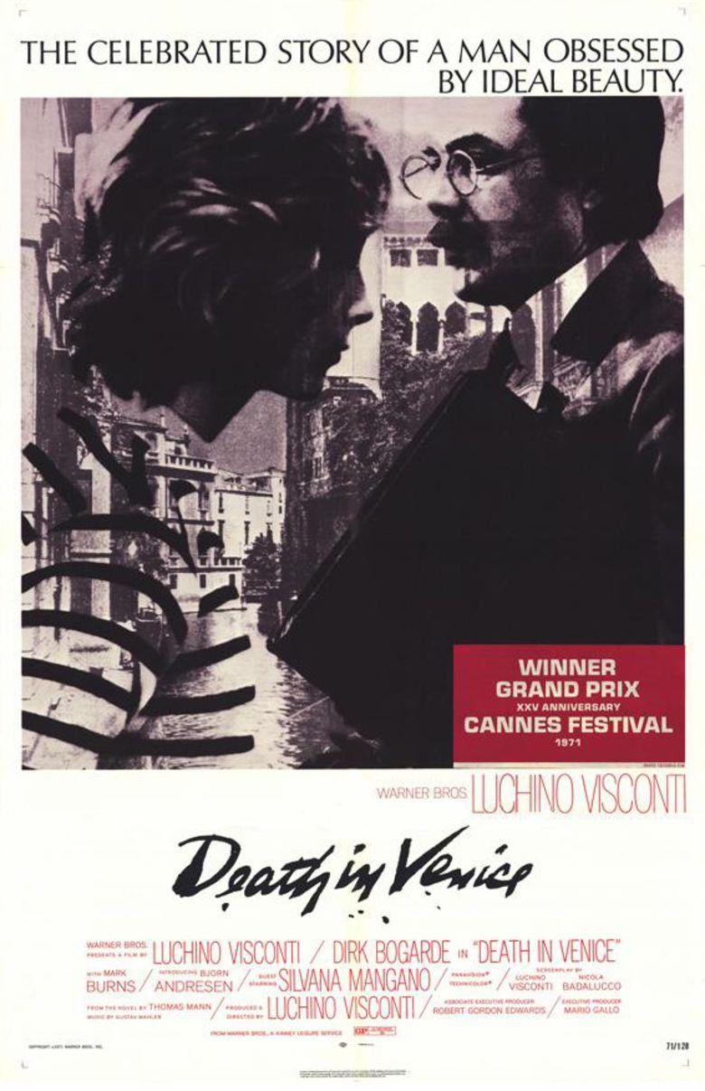 Death in Venice (film) movie poster