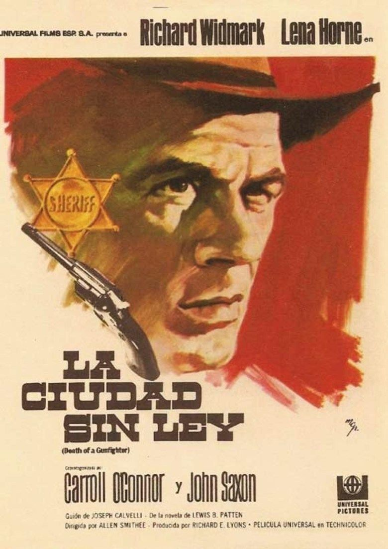 Death of a Gunfighter movie poster