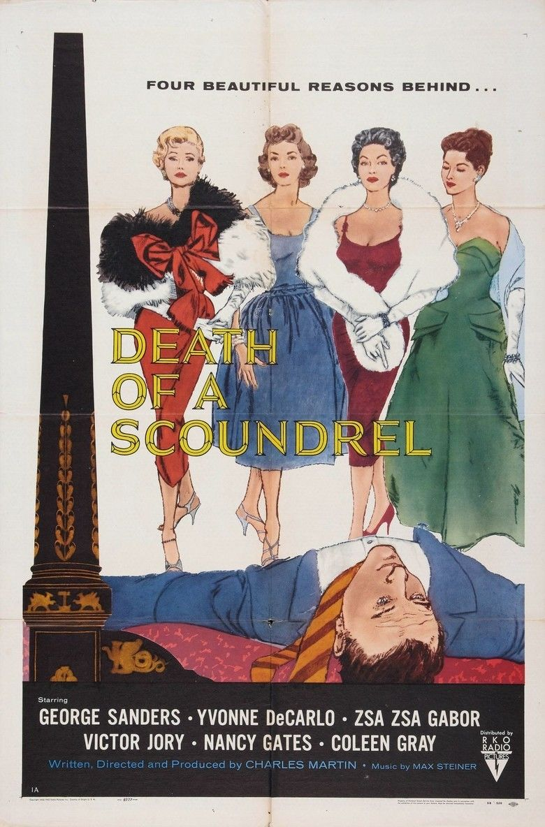 Death of a Scoundrel movie poster
