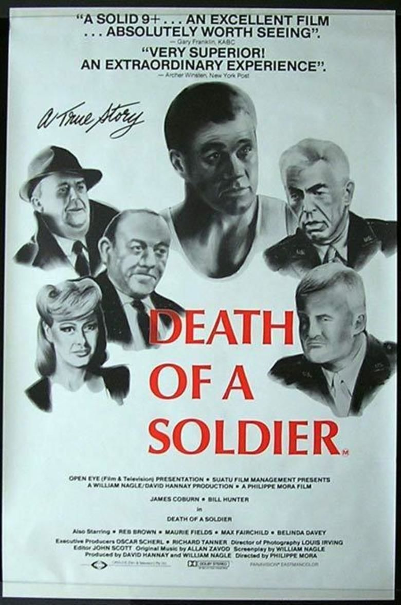 Death of a Soldier movie poster