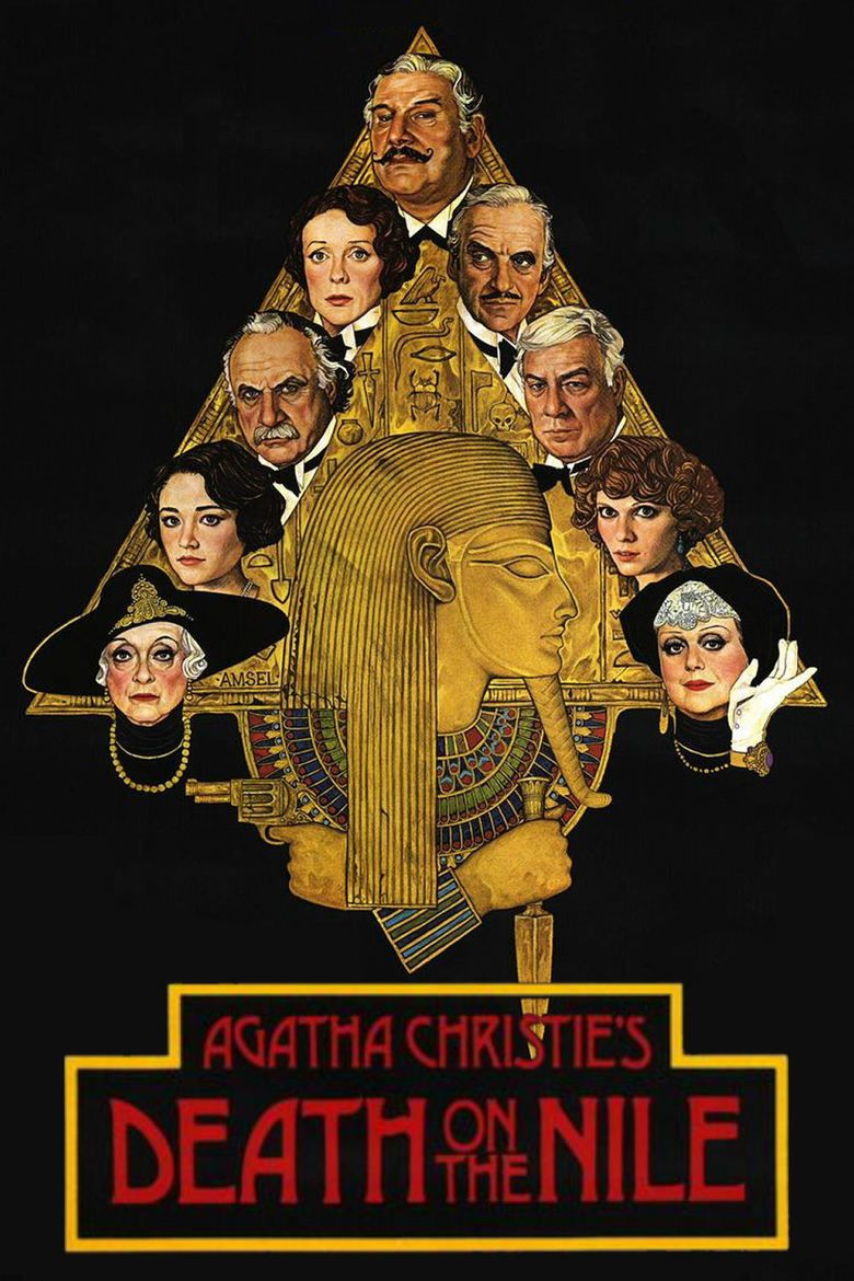 Death on the Nile (1978 film) movie poster