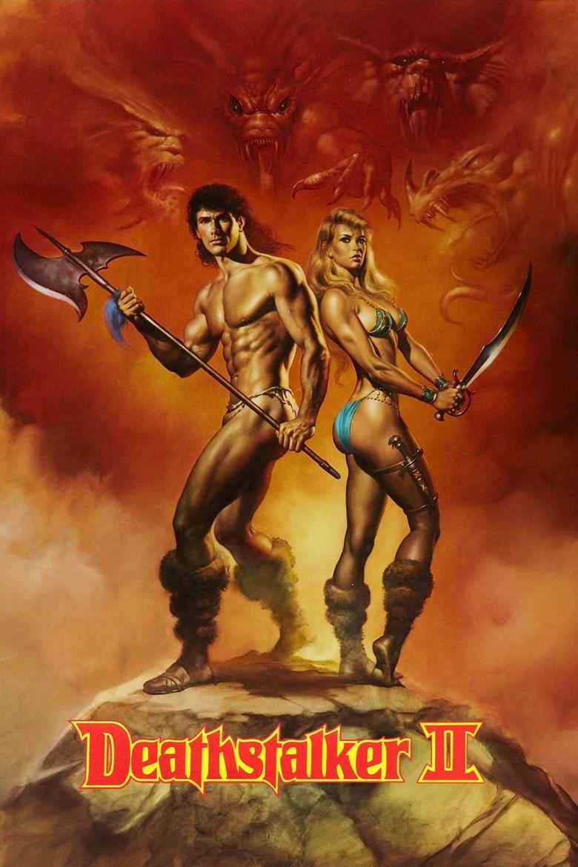 Deathstalker II movie poster
