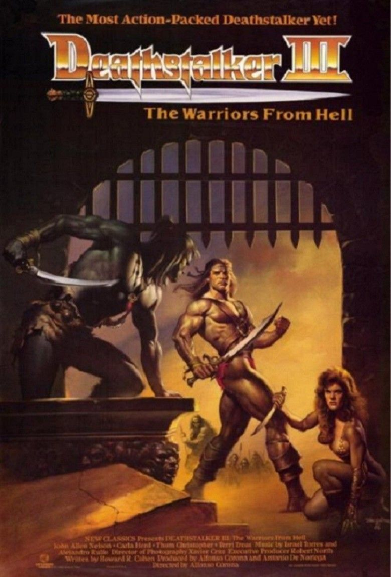 Deathstalker and the Warriors from Hell movie poster