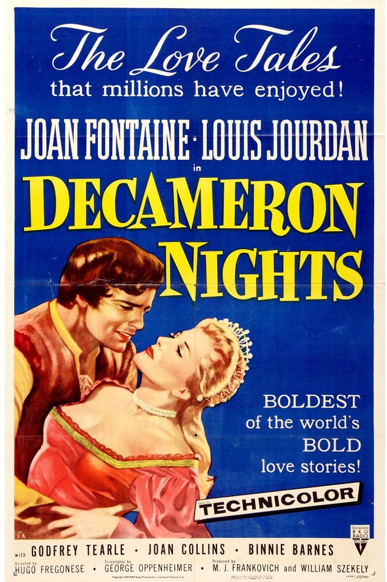 Decameron Nights movie poster