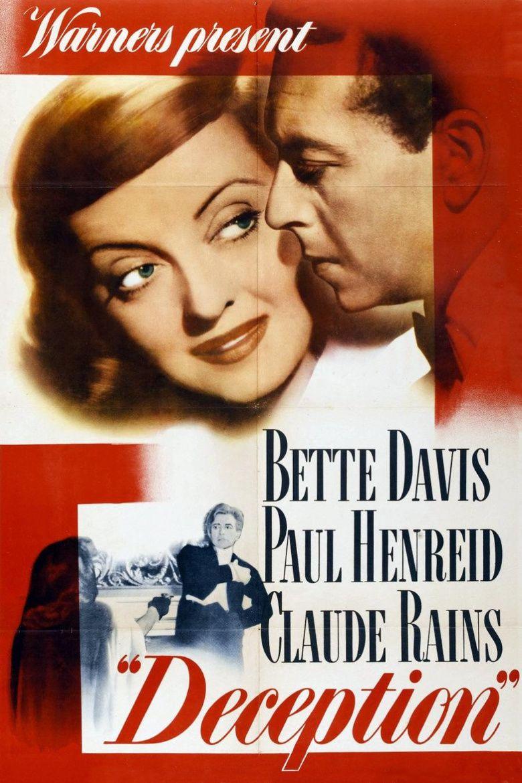 Deception (1946 film) movie poster