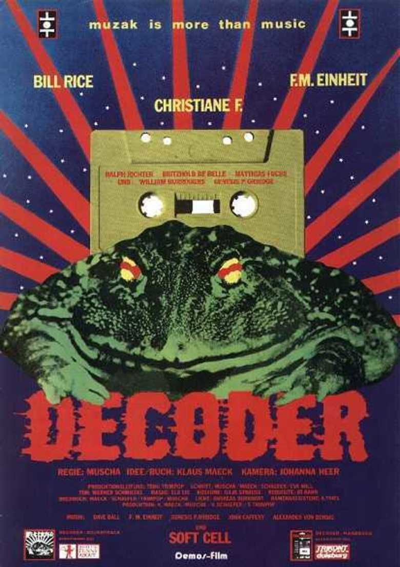 Decoder (film) movie poster