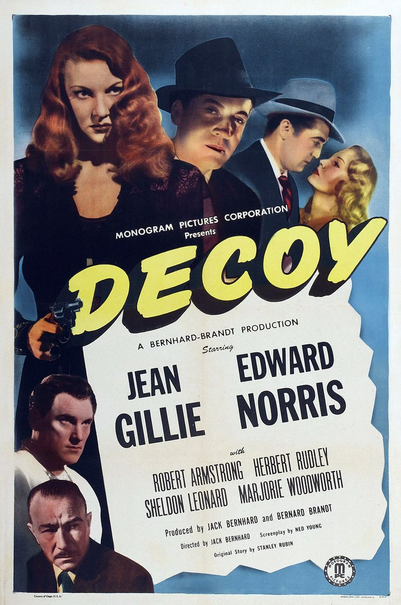 Decoy (film) movie poster