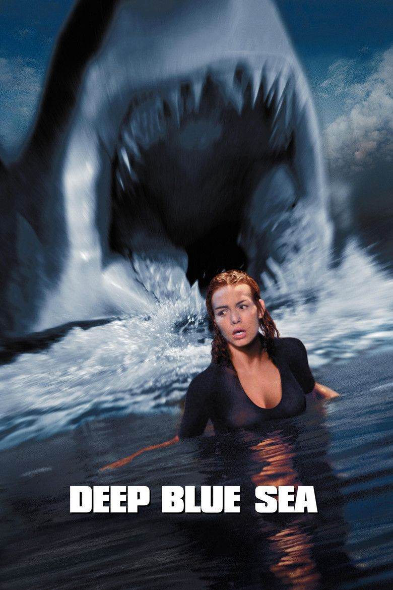 Deep Blue Sea (1999 film) movie poster