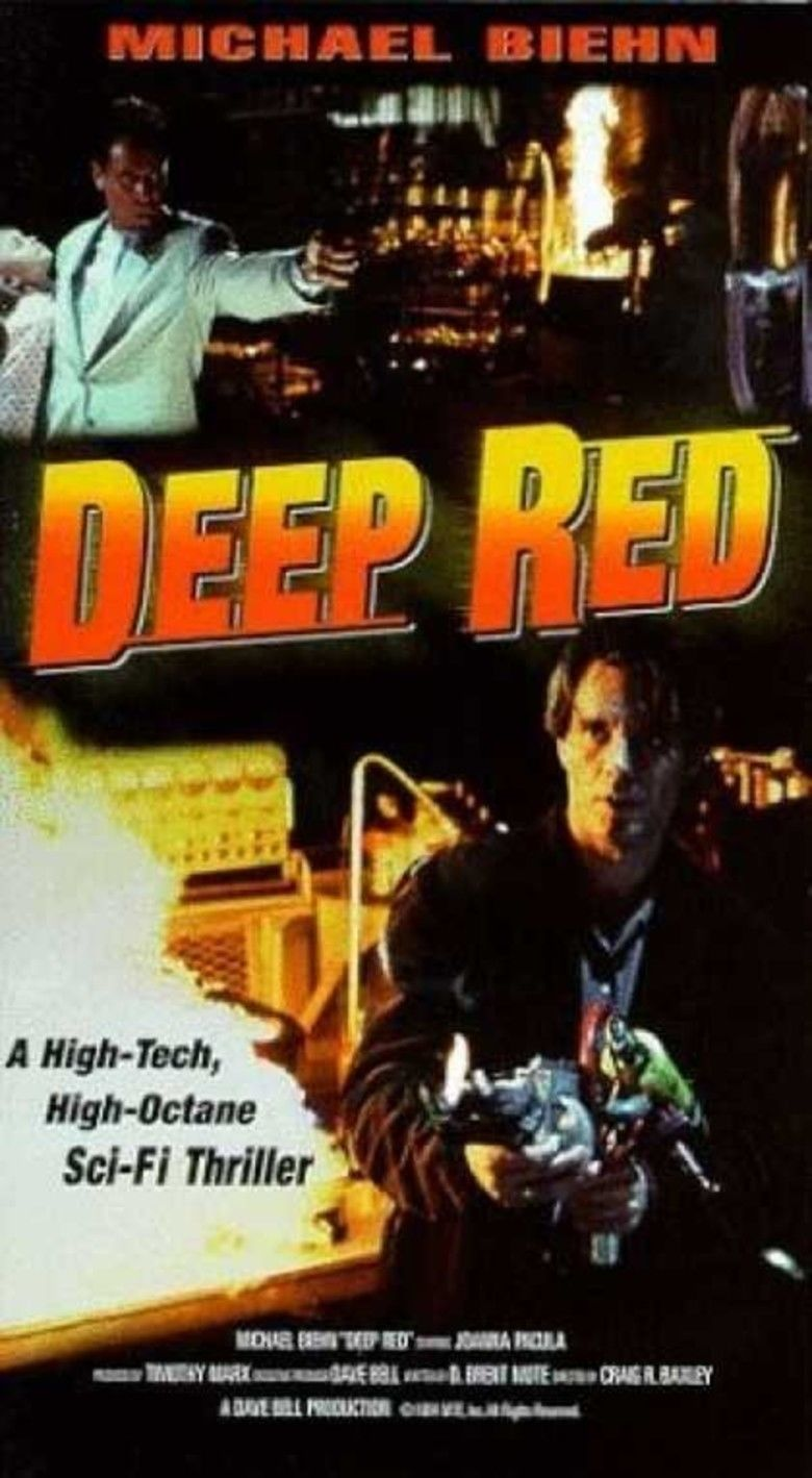 Deep Red (1994 film) movie poster
