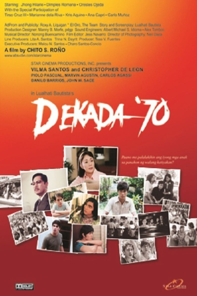 film analysis for dekada 70 Need essay sample on film analysis for dekada '70 we will write a cheap essay sample on film analysis for dekada '70 specifically for you for only $1290/page.