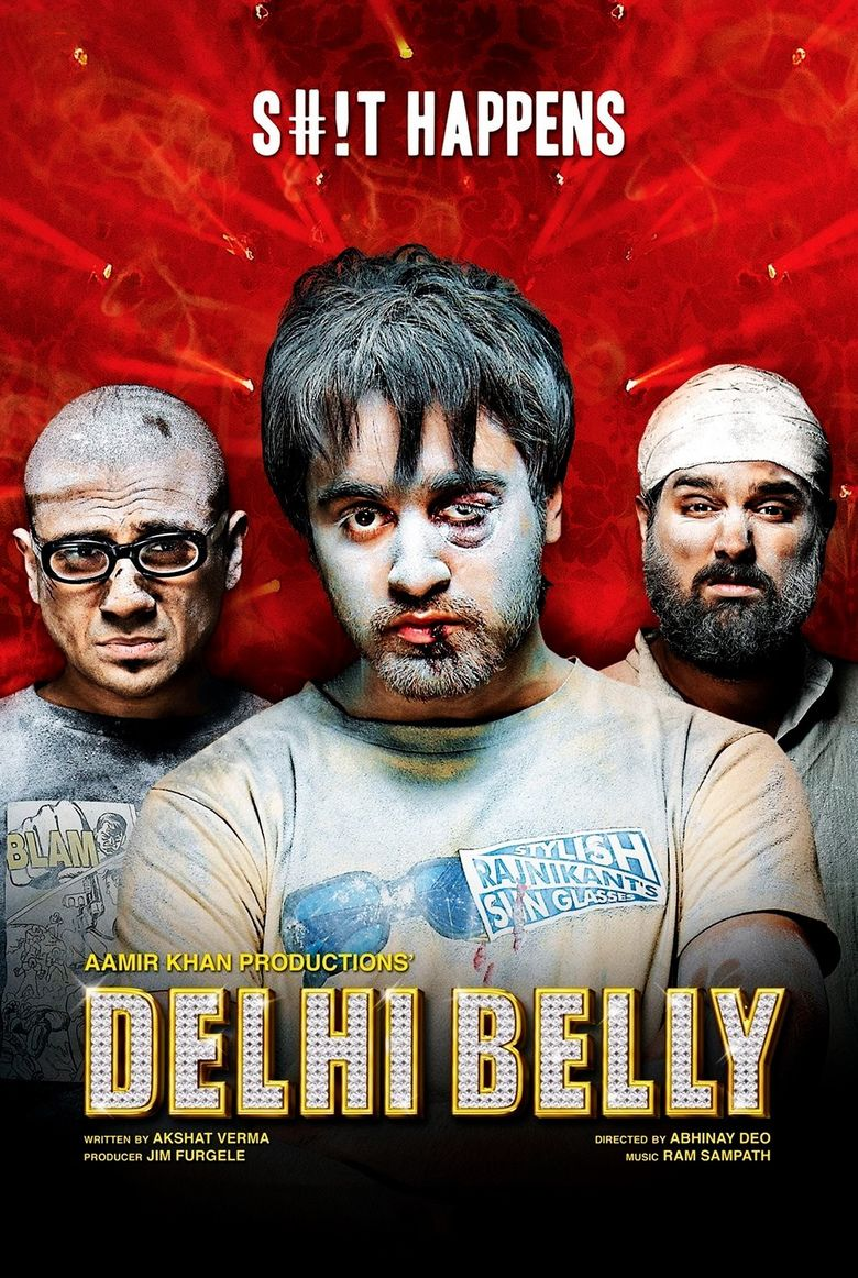 Delhi Belly (film) movie poster