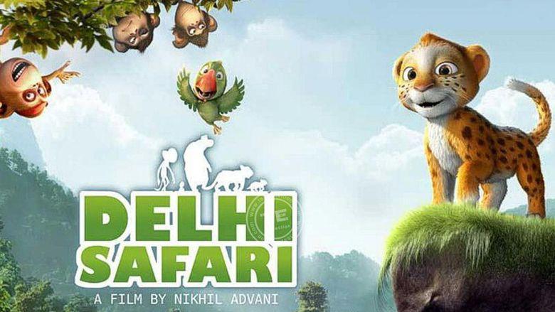 Delhi Safari movie scenes