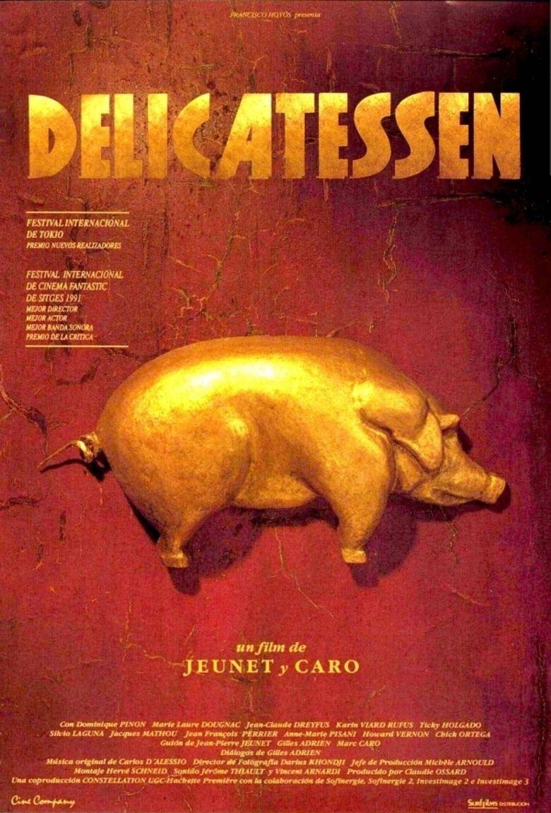 Delicatessen (film) movie poster