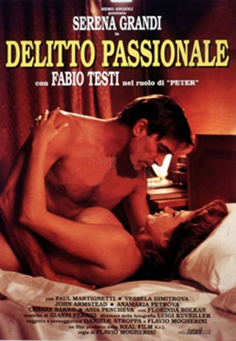 Delitto passionale movie poster