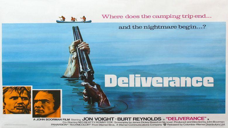 Deliverance movie scenes