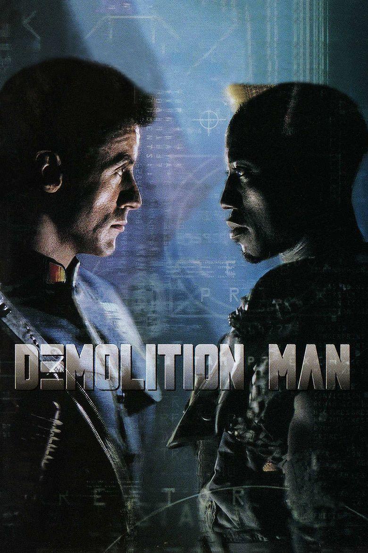 Demolition Man (film) movie poster