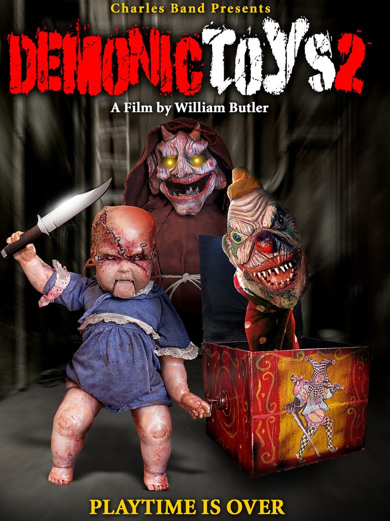 Demonic Toys 2 movie poster