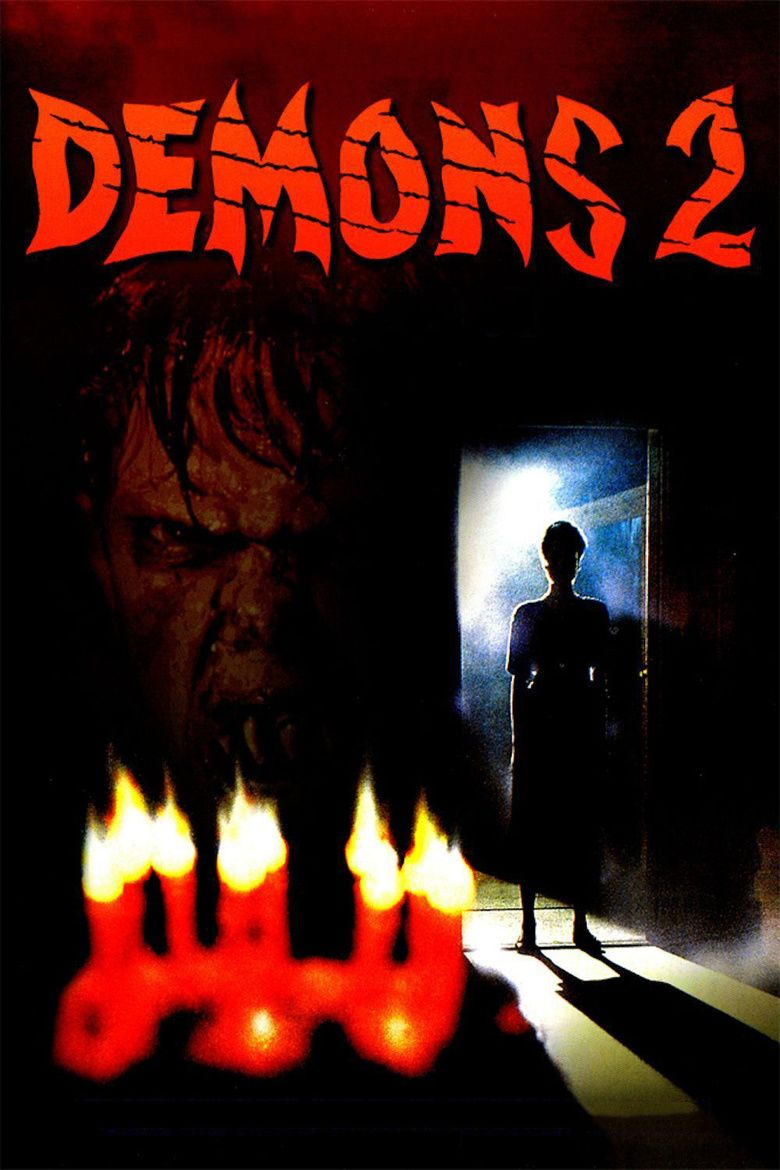 Demons 2 movie poster