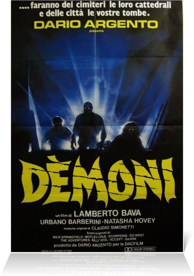 Demons (film) movie poster