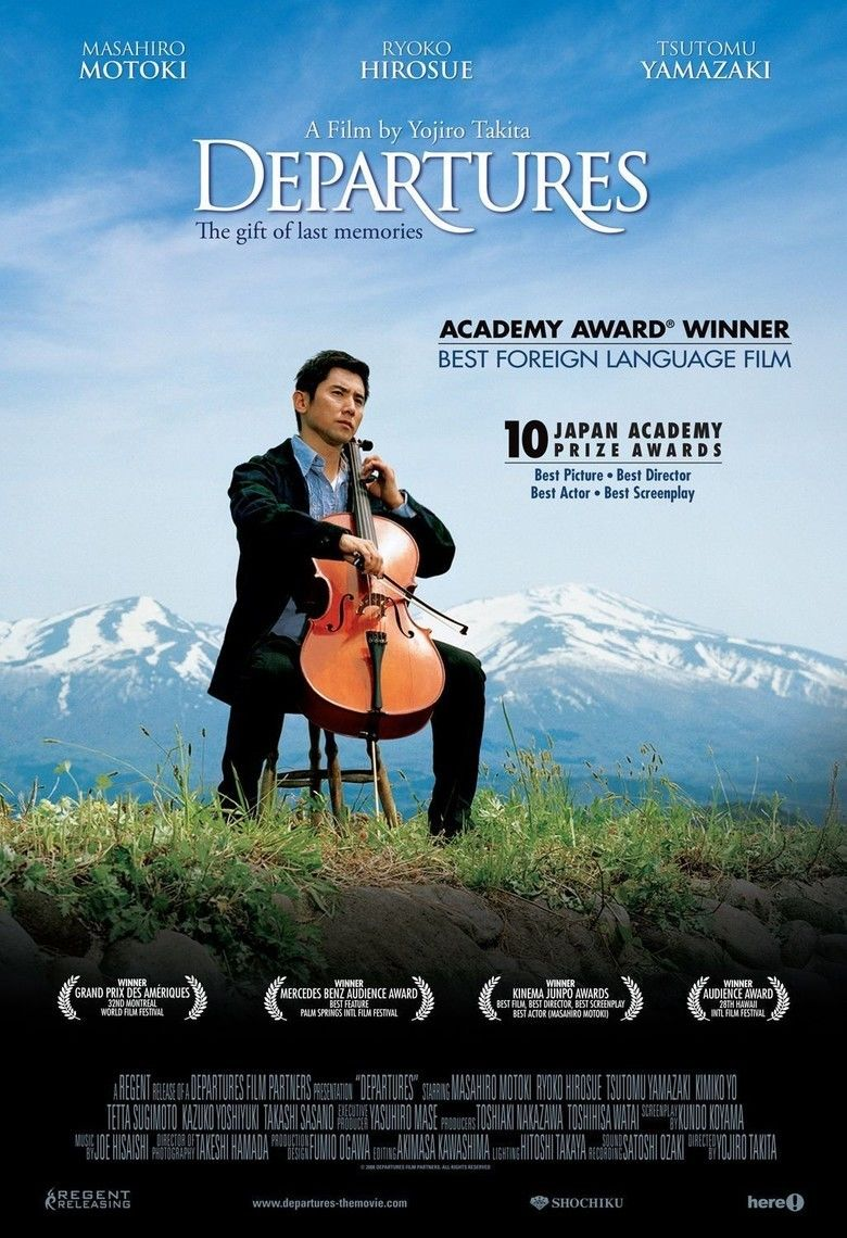 Departures (film) movie poster